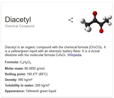 VaporFi - Top E-Juice Flavors - Diacetyl