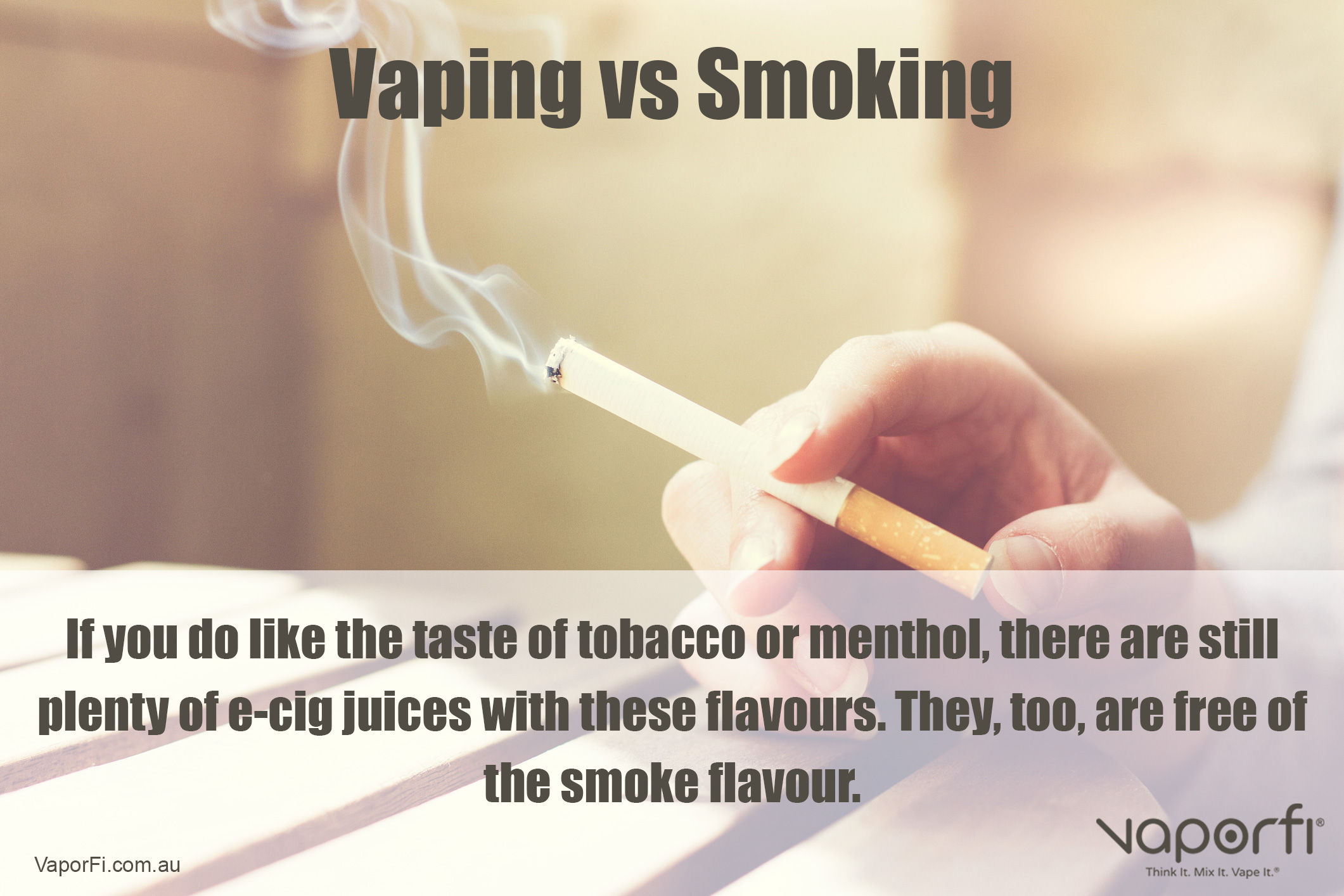 VaporFi Australia - Benefits of Vaping Versus Smoking: Smell