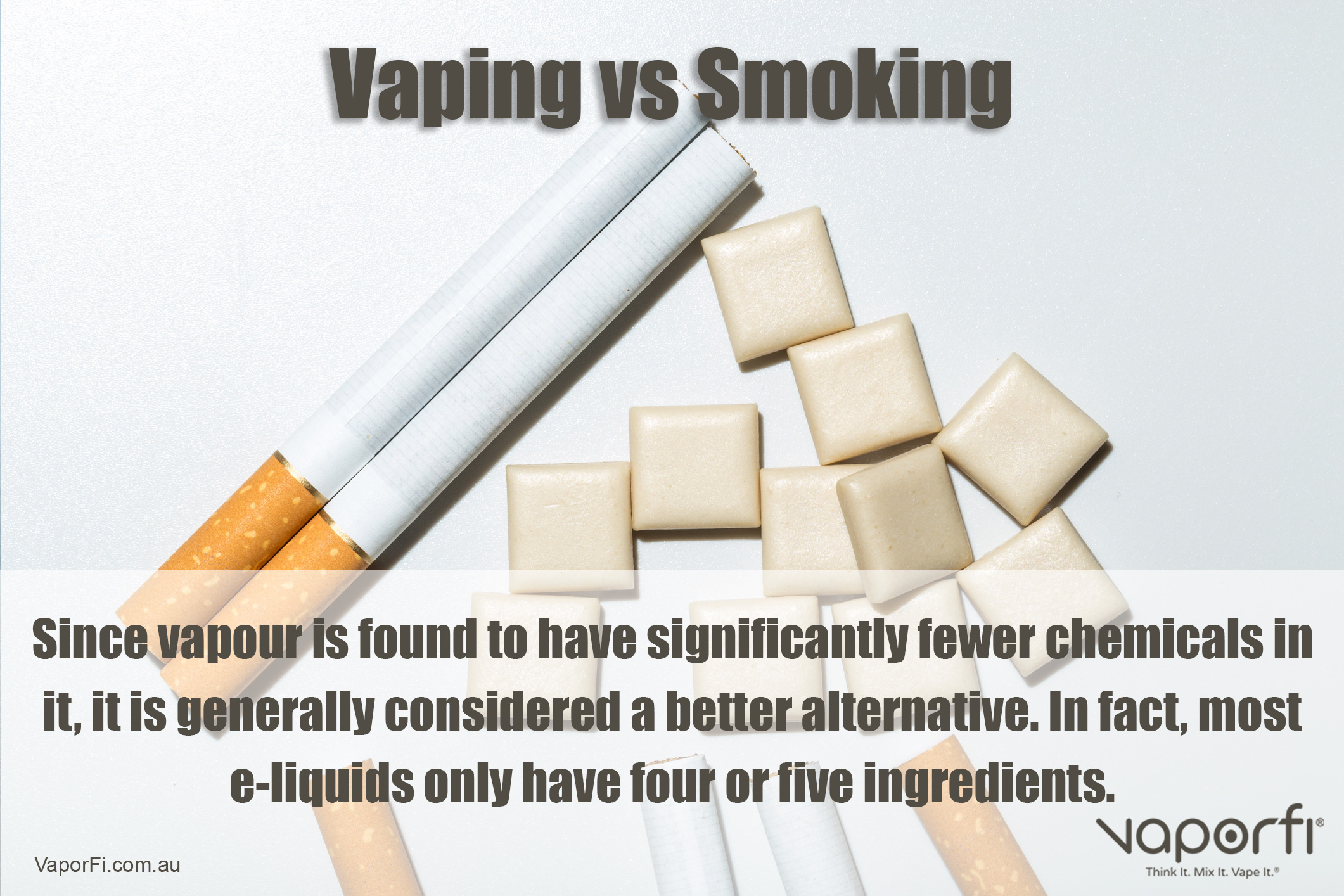 VaporFi Australia - Benefits of Vaping Versus Smoking: Substitute