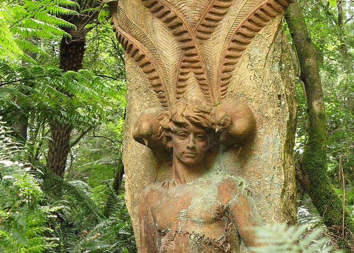 VaporFi Australia -  Best Parks in Melbourne: William Ricketts Sanctuary