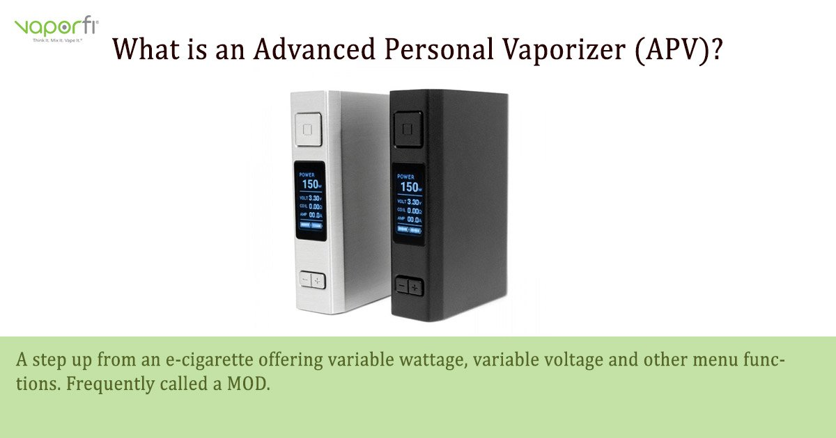 Advanced Personal Vaporizer (APV)
