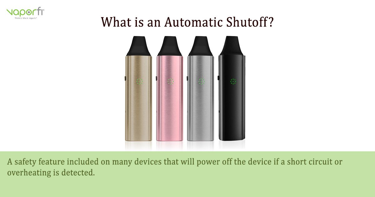 Automatic Shutoff