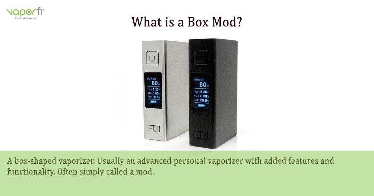 VaporFi Australia Glossary: Define Box Mod