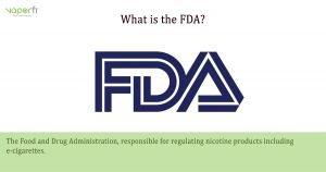 VaporFi Australia Glossary: Define FDA