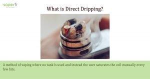 VaporFi Australia Glossary: Define Direct Drip