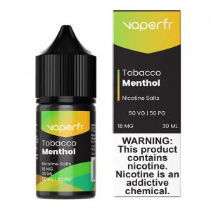 VaporFi Tobacco Menthol Nic Salts (30mL)
