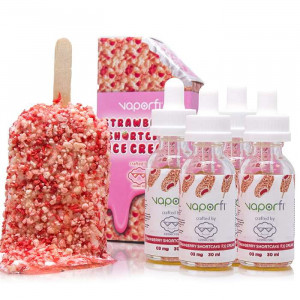 Strawberry Shortcake Ice Cream Crafted by Cosmic Fog (120ML)
