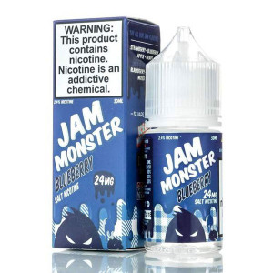 Blueberry Salts E-Liquid by Jam Monster (30mL)