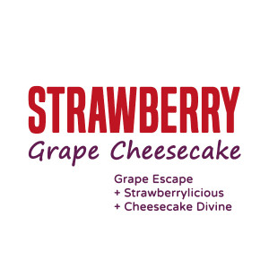 Strawberry Grape Cheesecake Vape Juice