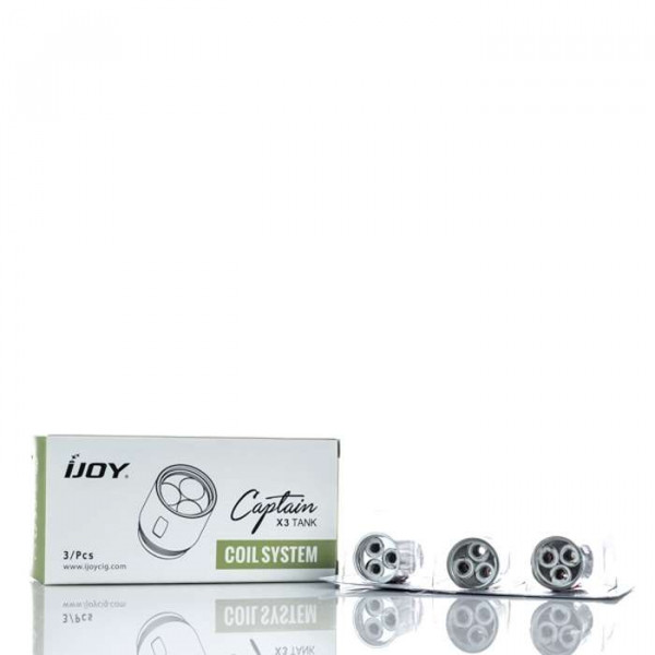 iJoy Captain X3 Replacement Vape Coils (3-Pack)